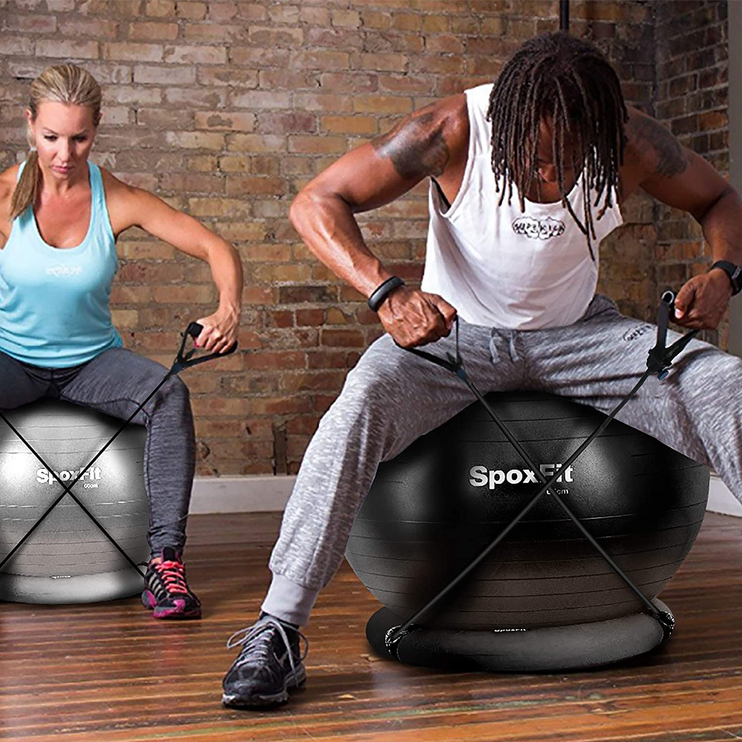Best Exercise Balls with Resistance Bands Reviews for 2021